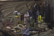 FBA Collections: Artist's Studios / A look inside the studios of artists who have exhibited work at the Federation of British Artists' annual exhibitions.
