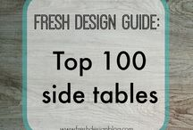 Tables, Chairs, Sofas & Stools / Contemporary design tables, chairs, sofas and stools for your home.