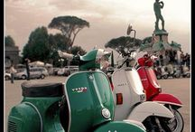 Vespa Va-Va-Voom / The iconic Vespa scooter - it never goes out of style