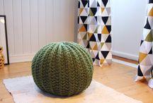 Idées déco à tricoter