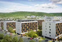 Второй этап строительства комплекса в Борах (Bory Bývanie)