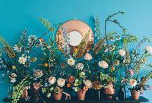 Wedding flowers / Idées de bouquets, de fleurs et de végétaux pour mariage
