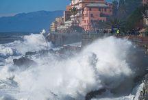 Genova: mareggiata 11 gennaio 2016