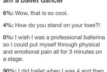 Problems only dancers understand