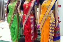 draping of saree