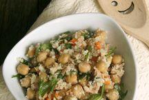 cous cous e quinoa