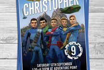 Thunderbirds 7th Birthday party March 2016