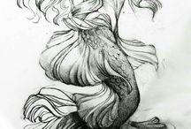 Mermaid Tats