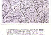Knitting: Estonian lace