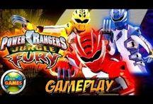 Power Rangers Games / Use todos os poderes dos Power Rangers para salvar a Terra de terríveis vilões.