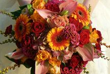 Bukiet ślubny jesień