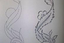 sketsa lekuk2 motif