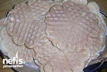 Waffle tarıfleri