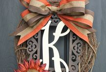 wreath crafts / by Crystal Anderson