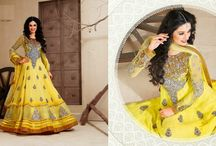 Bridal Lehenga Online Shopping / Jugniji.com : A huge sparkling collection of Indian ethnic wear in our attention-grabbing online showroom whose variety is growing every month.## http://goo.gl/oRVAzo