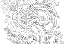 Colouring Sheets for Adults