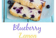 Blue berry lemon loaf