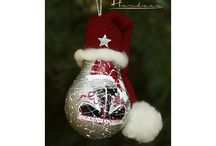 Christmas Handmade Globes / Pro recycling & Hand painted