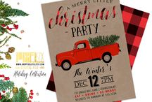 Fairview Christmas Party Invite