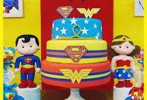 aniversário tema super heróis