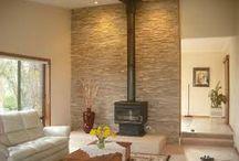 Fireplace wall ideas
