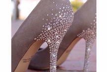 chaussures et strass