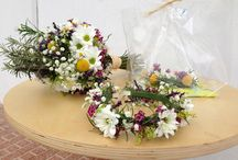 Like taken in the garden....... / Weddings in boho style, very natural and loosely