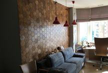 Hexagon / Hexagon  wood