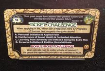Ticket to Wealth / Challenge your Napoleon Hill wisdom and understanding with these questions...