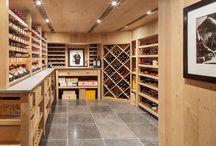 Stitchcombe Wine room