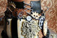 Steampunk / Burlesco Cakes