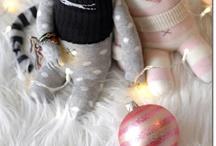 muñecos de calcetin / Patrones y moldes para hacer muñecos