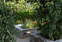 Trädgårdsbänkar