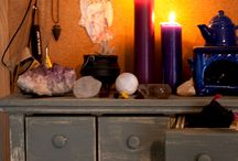 Altars / Sacred Decoration / by Witchsistah