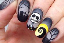 ногти -Хэллоуин