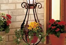 Solar garden posts