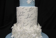 Wedding Winter / Wedding Cakes for the Winter Season / by Satin Ice