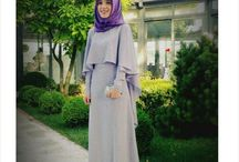 simple abaya with attch cape