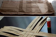Paper Bag Crafts / Things to make out of all those paper bags