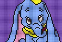 pixels painting