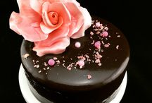mirro glaze cake