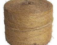 Sisal Twine /   •  1-Ply, 2-Ply & 3-Ply  •  190 lbs., 360 lbs & 460 lbs. Tensile Strength  •  100% naturally biodegradable and is deal for landscapers.  •  Heavy duty for large packages.  •  Natural fibers grips tightly .