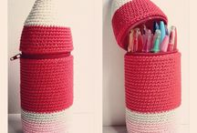pencil case crochet