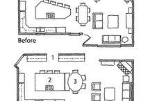 Kitchen Floor Plans / by Devan Wistrom