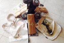 Bookbag / %100 keten harika işçilik mükemmel tasarımlı el yapımı kitap çantaları