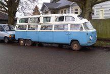 VW Bus und Käfer