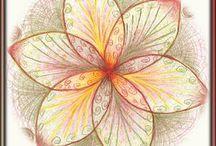 kleuren in de mandala