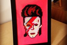 Crafts for at home / only about David Bowie (°1947-†2016)