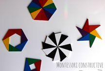 Sensorial Montessori Materials / by I believe in Montessori