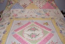 Quilting with Vintage Linens